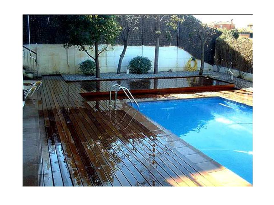 Tarimes de fusta per jard i terrassa a barcelona - Jardi pond terrassa ...